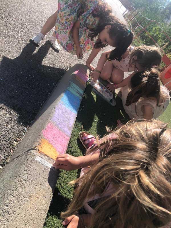Une place donnée aux enfants pour créer
